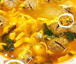 味蕾盛宴,番茄牛筋丸煮粉丝的做法