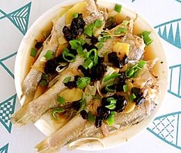 豆豉蒸黄鱼的做法
