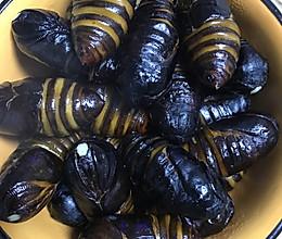 水煮蚕蛹(茧蛹)超级简单的做法