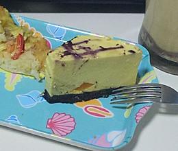 8寸芒果芝士蛋糕(免烤箱)的做法