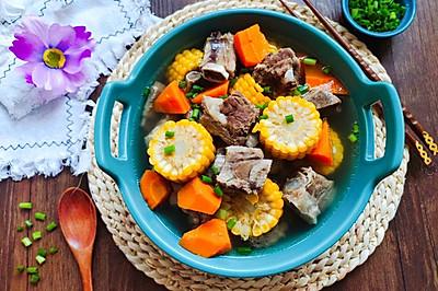 滋补靓汤--排骨玉米胡萝卜汤