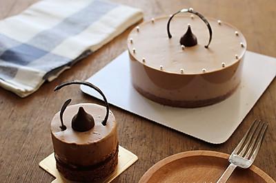 醇香巧克力慕斯蛋糕