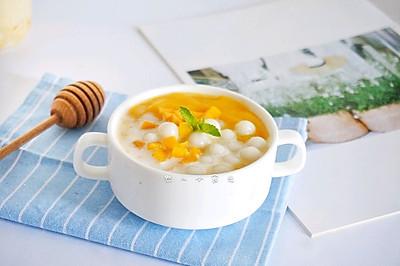 #花10分钟,做一道菜!#椰芒多多小丸子
