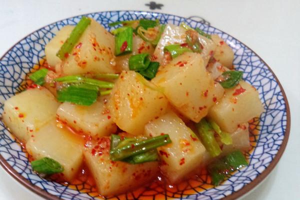 大喜大牛肉粉试用----辣炒米豆腐的做法