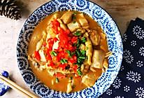 竹蛏烩豆腐的做法