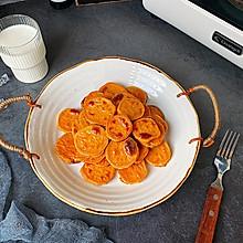 蜂蜜烤红薯片