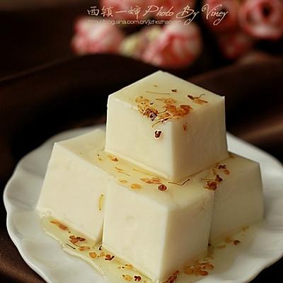 桂花杏仁豆腐