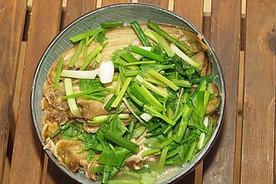豆酱水煮龙舌鱼