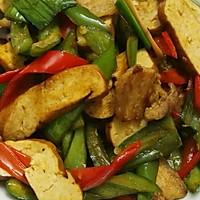 双椒香干回锅肉#我买新鲜味#的做法图解8