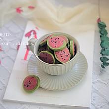 #餐桌上的春日限定#西瓜曲奇饼干
