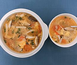 西红柿菌菇瘦身汤的做法