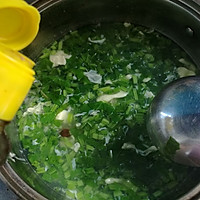 菠菜鸡蛋汤的做法图解9