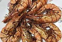 黑胡椒煎黑虎虾的做法