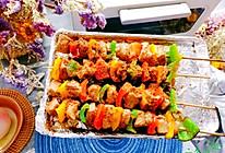 #爱乐甜夏日轻脂甜蜜#减脂解馋~彩椒鸡肉串的做法