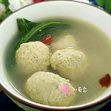 青菜丸子汤#黑人牙膏一招致胜#