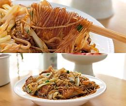 #太太乐鲜鸡汁芝麻香油#猪肉炖粉丝大白菜的做法