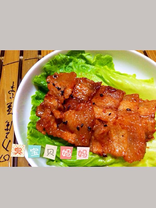 垂涎欲滴之韩式烤肉的做法