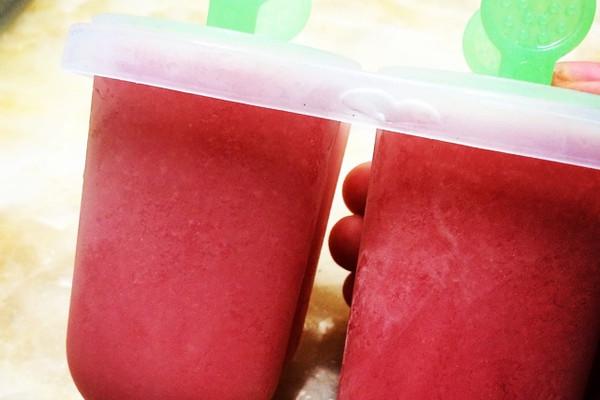 西瓜牛奶冰淇淋的做法