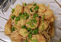 金针菇豆腐的做法