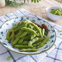 盐水毛豆——夏季清凉小食