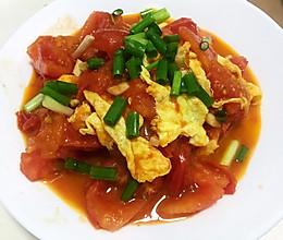 最下饭的西红柿炒鸡蛋的做法