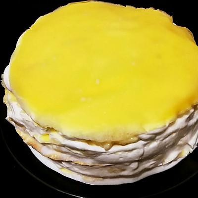 6寸榴莲千层蛋糕