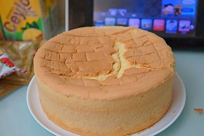 7寸戚風蛋糕