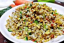 剩米饭这样吃,营养又美味:什锦炒米的做法