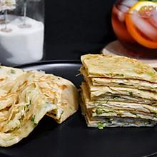 #安佳食力召集,力挺新一年#奶香黄油葱油饼