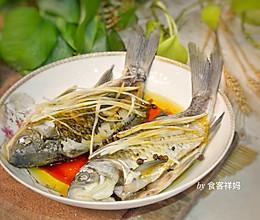 #秋天怎么吃# 这样做清蒸鲫鱼,没有一点鱼腥味道,只有鲜!的做法