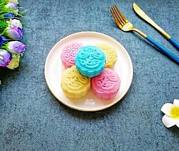 彩色冰皮月饼#晒出你的团圆大餐#的做法