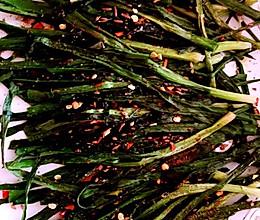 五分钟快手烤韭菜的做法