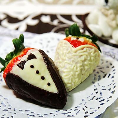 【甜心巧克力草莓】