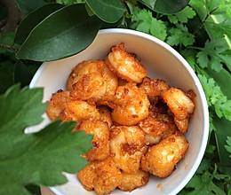 『简单下饭』茄汁虾仁的做法