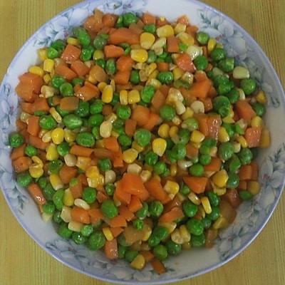 萝卜玉米青豆