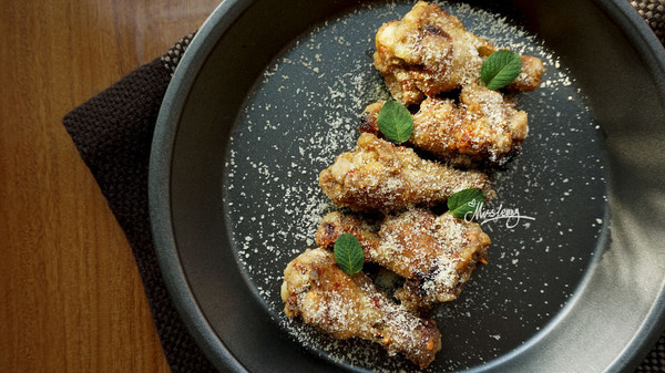 香麻藤椒吮指鸡的做法