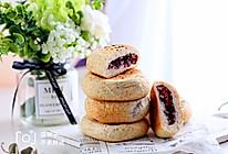紫气东来黑麦紫米包的做法