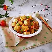 #就是红烧吃不腻!#红烧豆腐