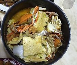 蟹煲的做法
