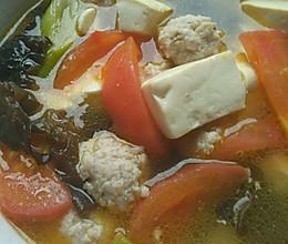 豆腐丸子汤的做法