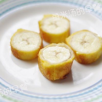 鸡蛋土司香蕉卷——宝宝辅食、营养早餐、甜蜜下午茶