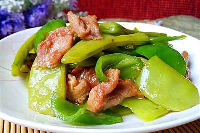 扁豆角炒肉