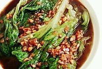最简单版『耗油生菜』的做法
