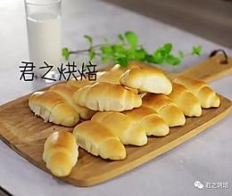 软式牛奶小面包的做法