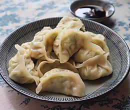 超好吃的素饺子 西葫芦鸡蛋蒸饺的做法