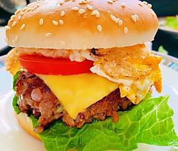 牛肉汉堡包的做法