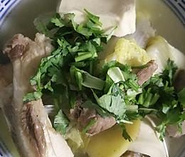 家庭版羊汤的做法