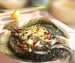 清蒸柠香多宝鱼的做法