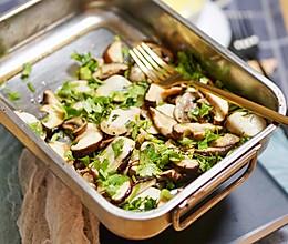 健康食谱|香草黑胡椒烤菌菇,自然之味 #硬核菜谱制作人#