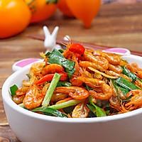 韭菜炒河蝦的做法圖解9